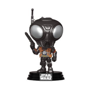 Funko POP! Vinyl Star Wars The Mandalorian : Q9-Zero - Pre-order